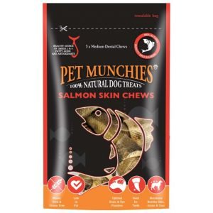 salmon dog chews