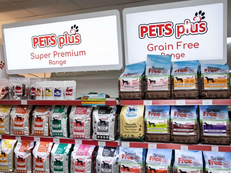 pets plus dog food