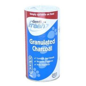 granulated charcoal