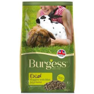 burgess excel rabbit food
