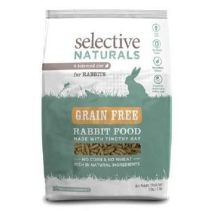 selective grain free rabbit food