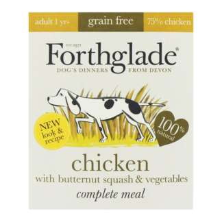 grain free dog food chicken flavor