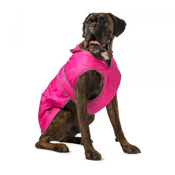 PINK DOG COAT