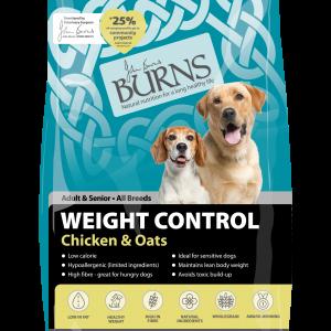 burns weight control