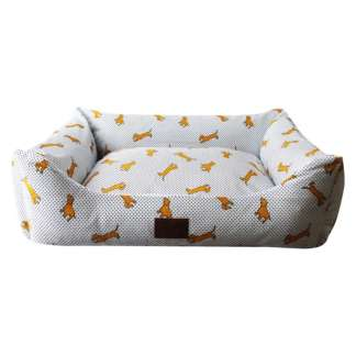 dog print pet sofa