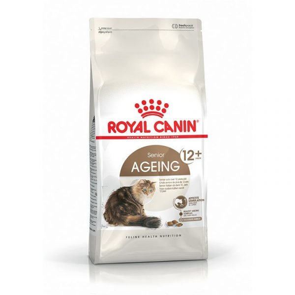 roya canin ageing cat food
