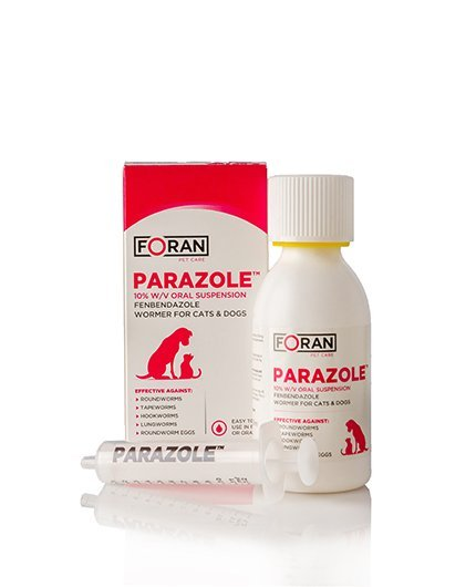 parazole wormer for dogs and cats