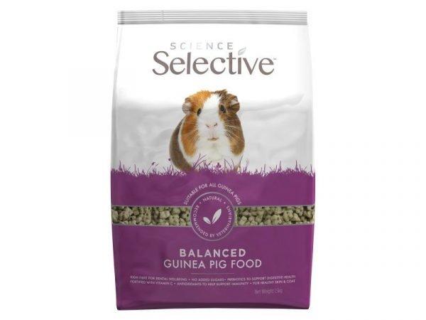 selective guinea pig food