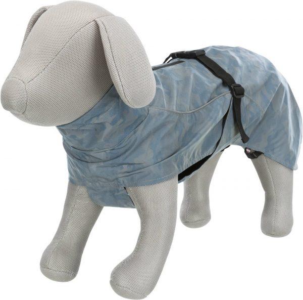 reflective dog raincoat