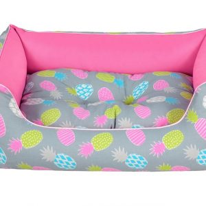 pineapple soft dog bed