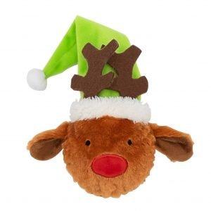 festive dog toy