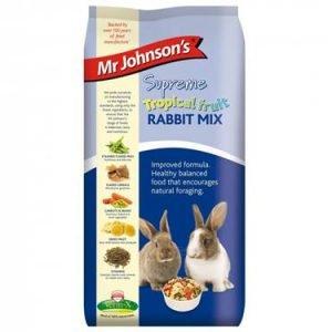 tropical rabbit food