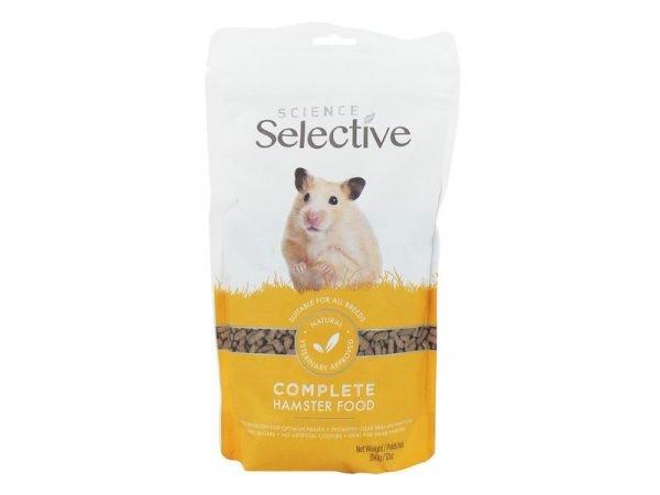 selective hamster food