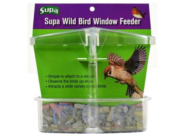 wild bird window feeder