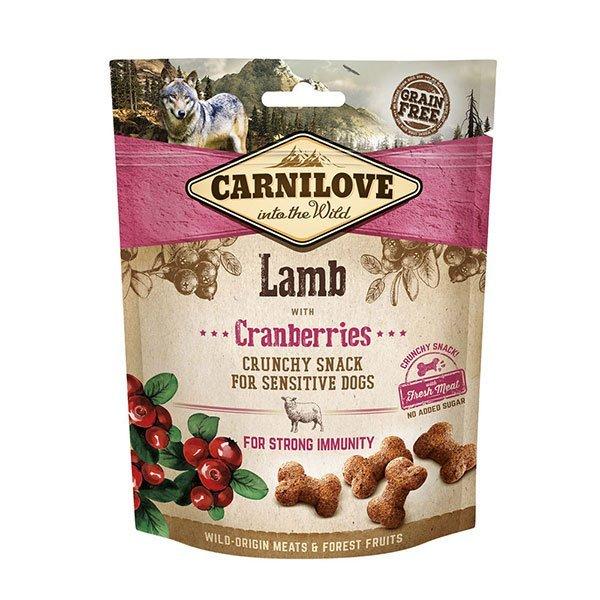 carnilove lamb dog treats