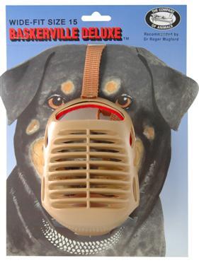 wide fit muzzle