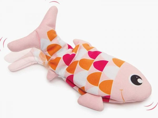 flopping fish cat toy